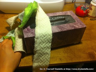 Upcycling to create baby toys!