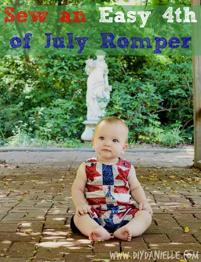 easy th july romper