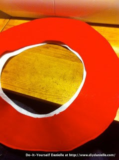 Rim for the Cat in the Hat Hat... liner and rim piece.