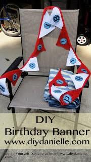 DIY: Dr. Seuss Birthday, Part I {Birthday Banner}