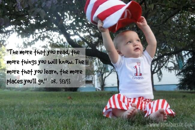 DIY: Dr. Seuss Birthday, Part III {The Hat from the Cat in the Hat}