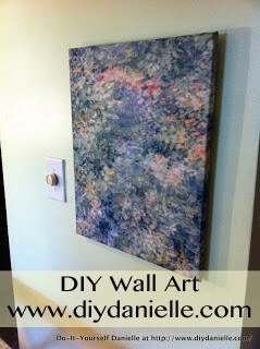 DIY Wall Art: No Sew