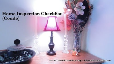 Home inspection checklist for if you're selling a condo.