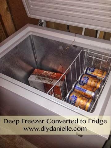 Converting Deep Freezer to a Refrigerator