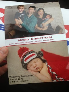 How to make your own Christmas photo card and spend less money