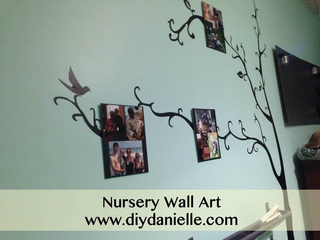 Nursery Makeover: Part IX {Nursery Wall Art}