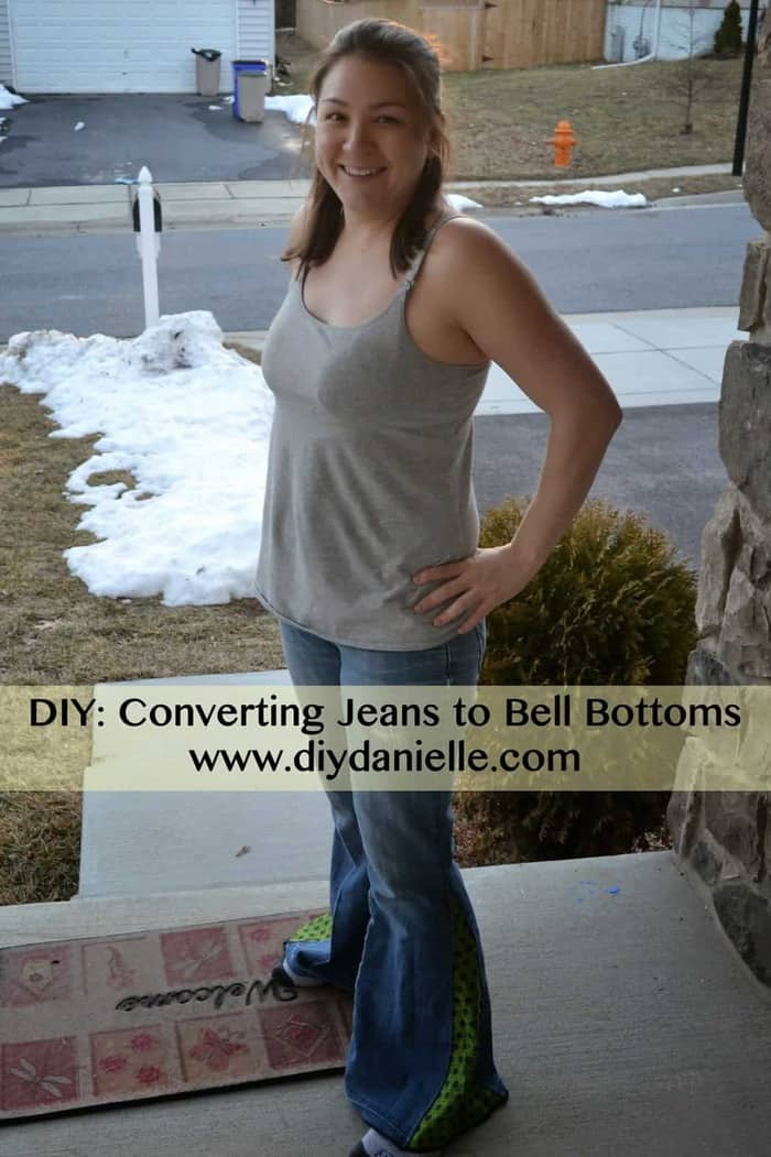 Jeans to Bell Bottoms