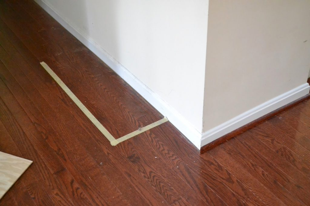 marking the floor to plan entertainment base