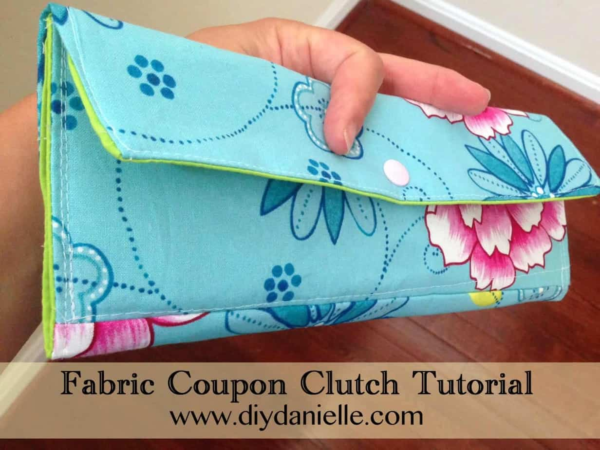 Fabric Coupon Clutch