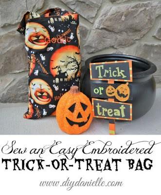 sew a halloween bag
