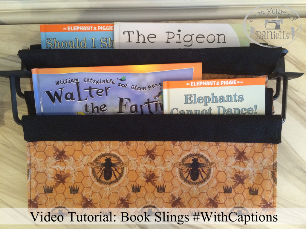 Video Tutorial: Book Slings #WithCaptions