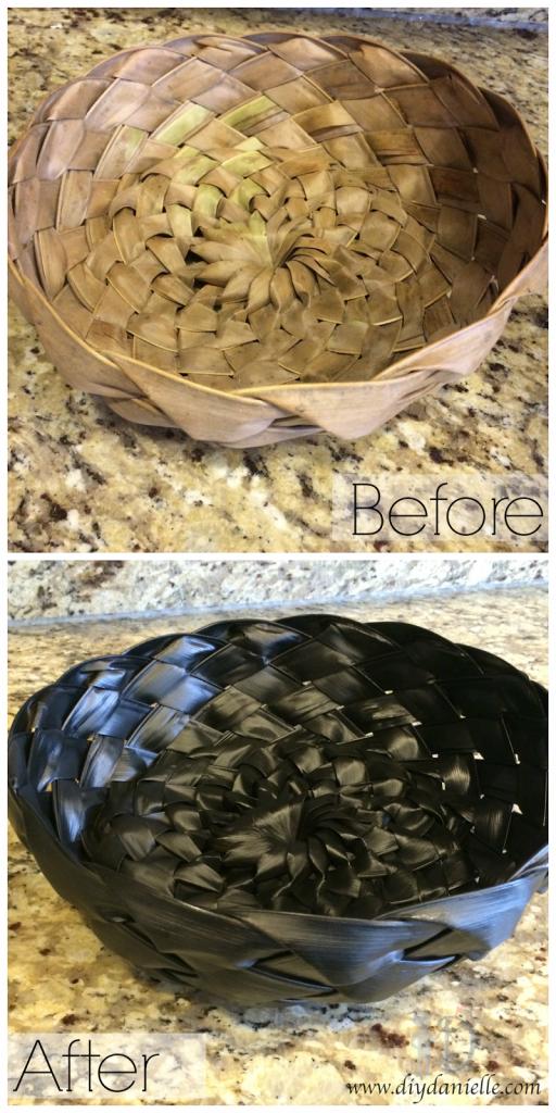 Palm Leaf Basket: A New Look