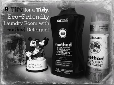 9 Tips for a Tidy, Eco-Friendly Laundry Room with method Detergent