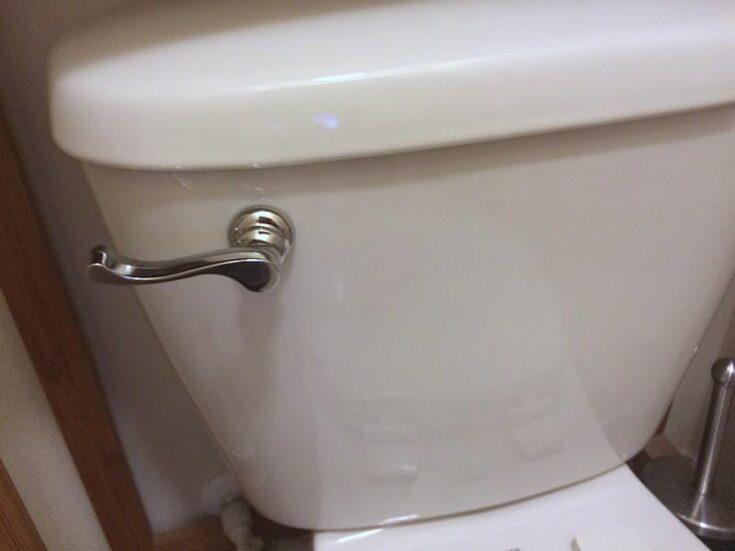 new toilet handle