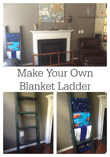 How to make your own blanket ladder.