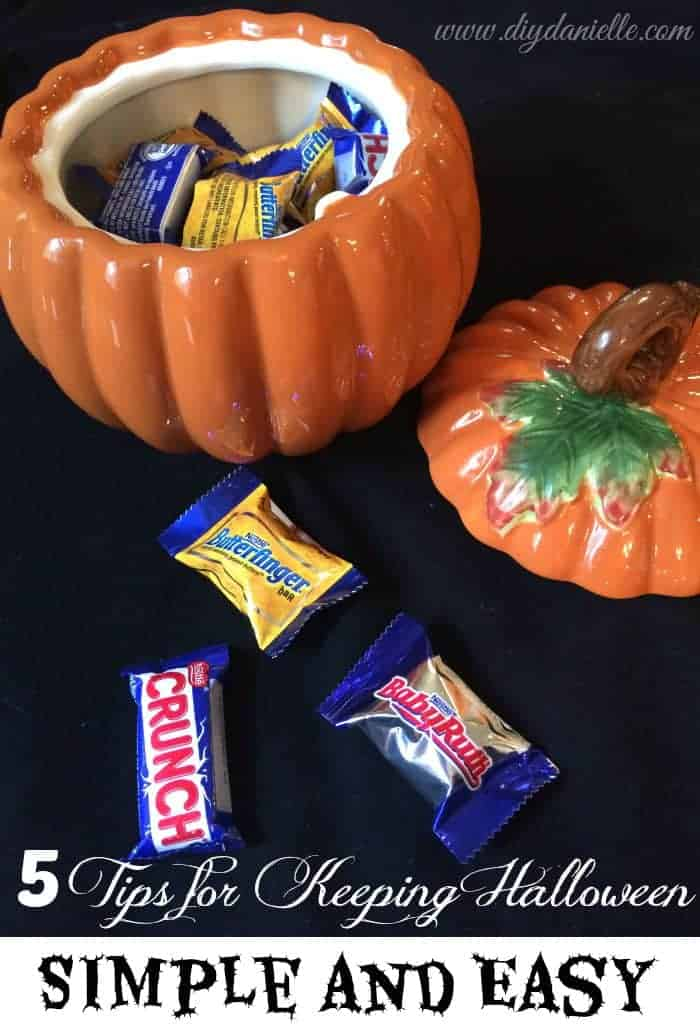 5 Tips for Keeping Halloween Simple and Easy