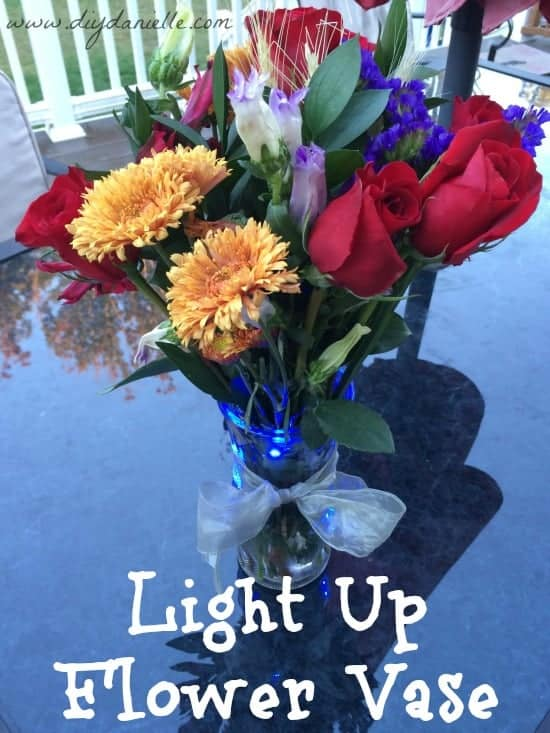 Light Up a Vase with LED Micro Lights