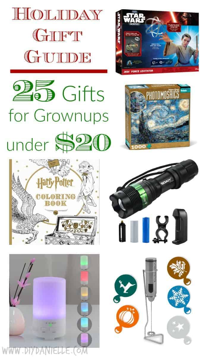 Holiday Gift Guide: 25 Great Gifts for Grownups under $20