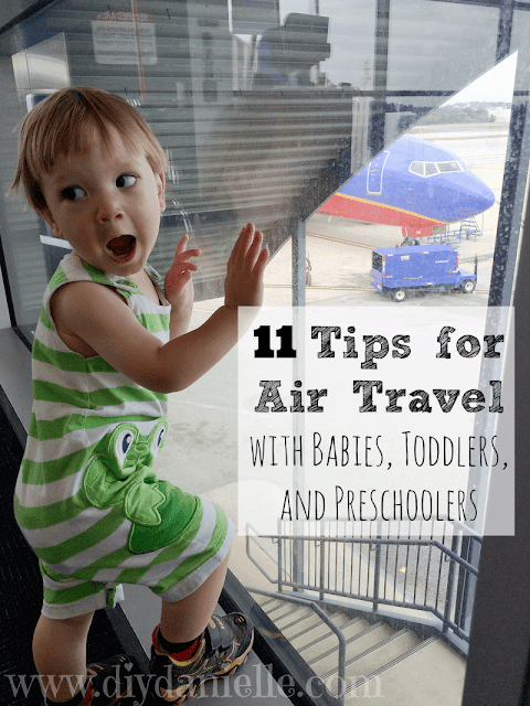 Tips for traveling with babies, toddlers, and preschoolers.
