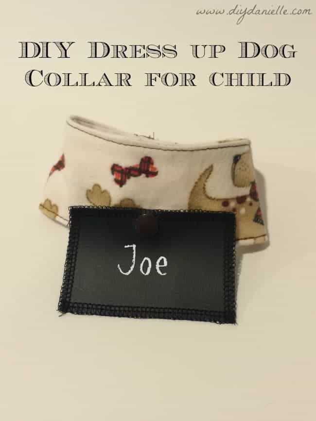 Children's Pretend Play Dog Collar