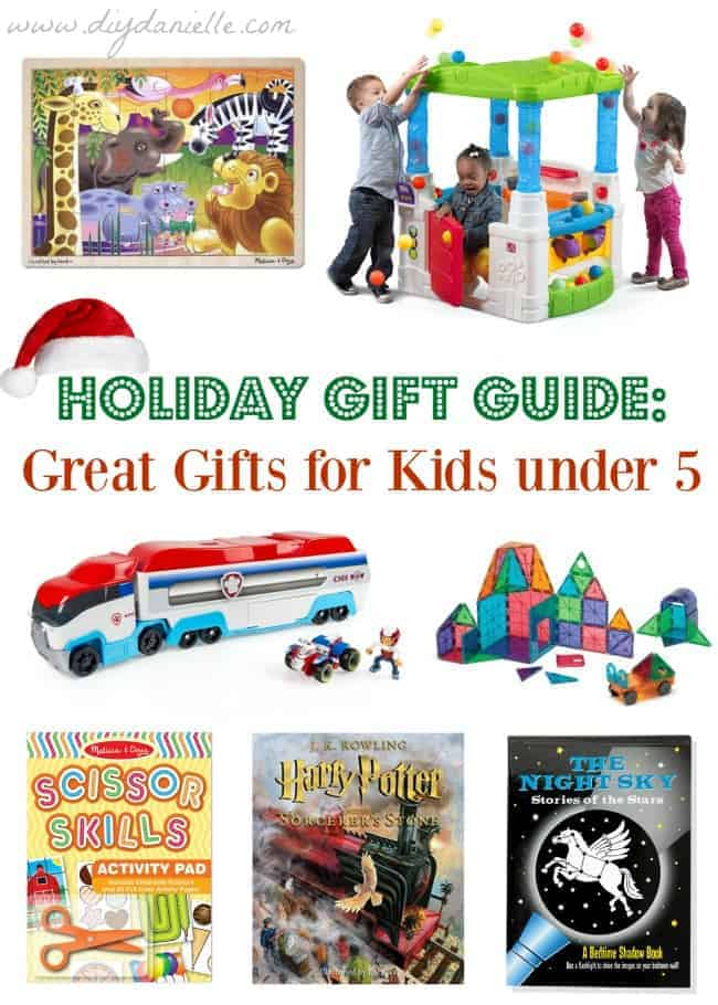 Holiday Gift Guide: Great Gifts for Kids Under 5 years old ...