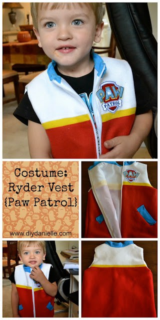 Sew a Ryder Vest from Paw Patrol