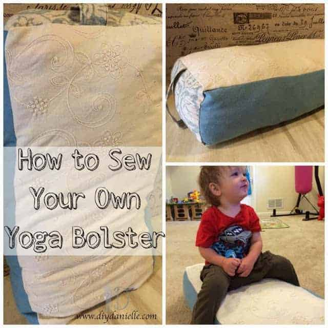 Sew a yoga bolster.