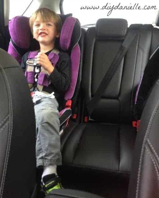 energi car seat space