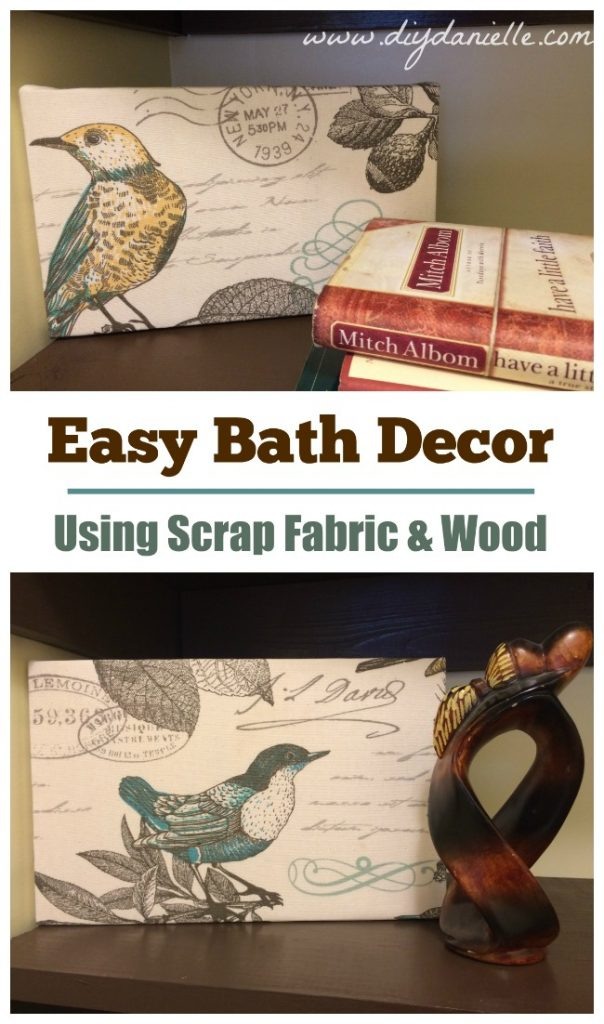 Easy DIY Bath Decorations