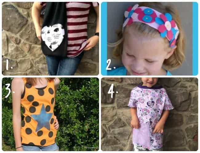 Clothing to make with knit fabric.