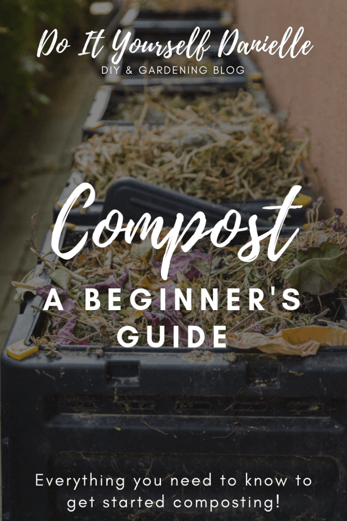 photograph relating to Printable Compost List identified as How toward Commence Composting - Do-it-yourself Danielle