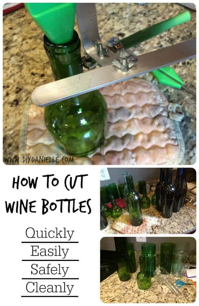DIY Wine bottle cutting