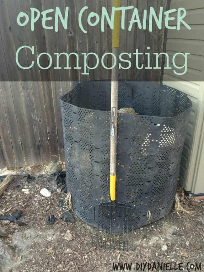 open bin composting