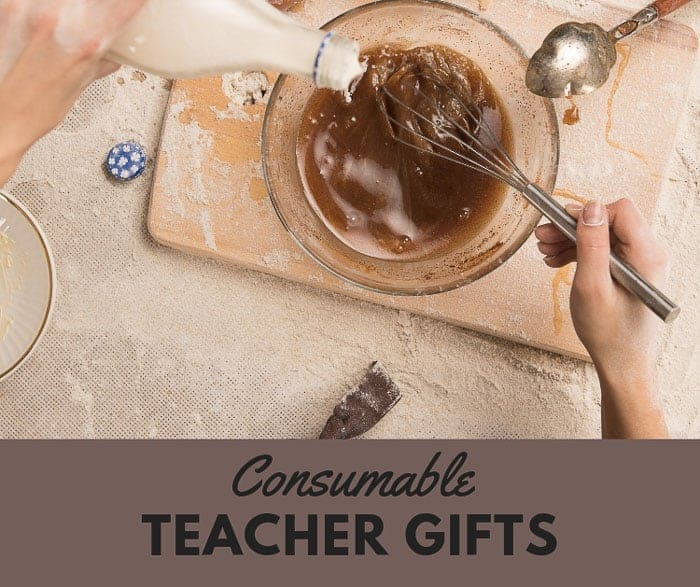 Consumable Gifts