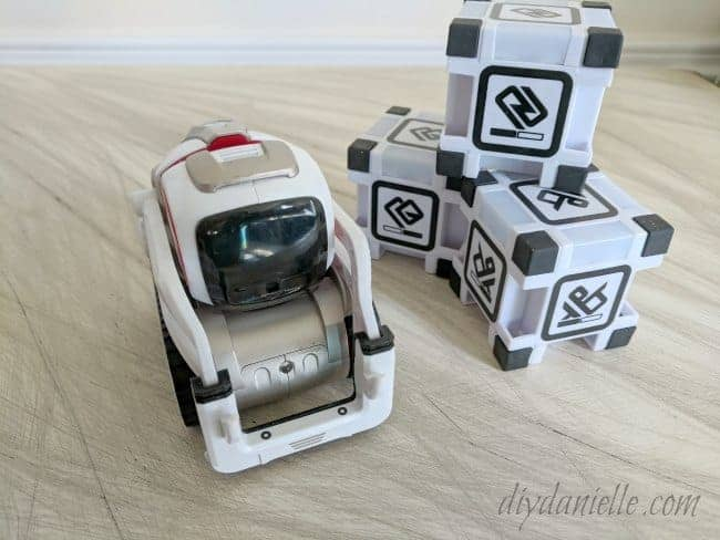 Learn programming with Cozmo for summer science activity.