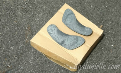 Foot pads from PlasmaCar