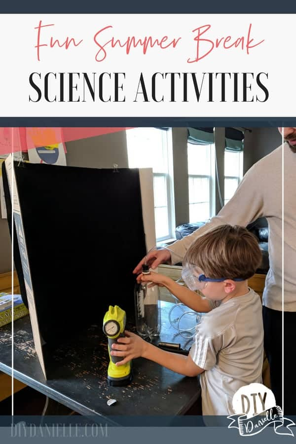 Ideas for summer science activities and toys that will help prevent summer slide.
