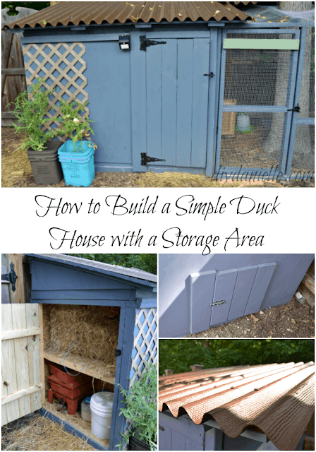 DIY Duck House with Storage