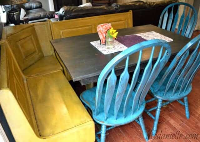 flip colorful farmhouse table fun
