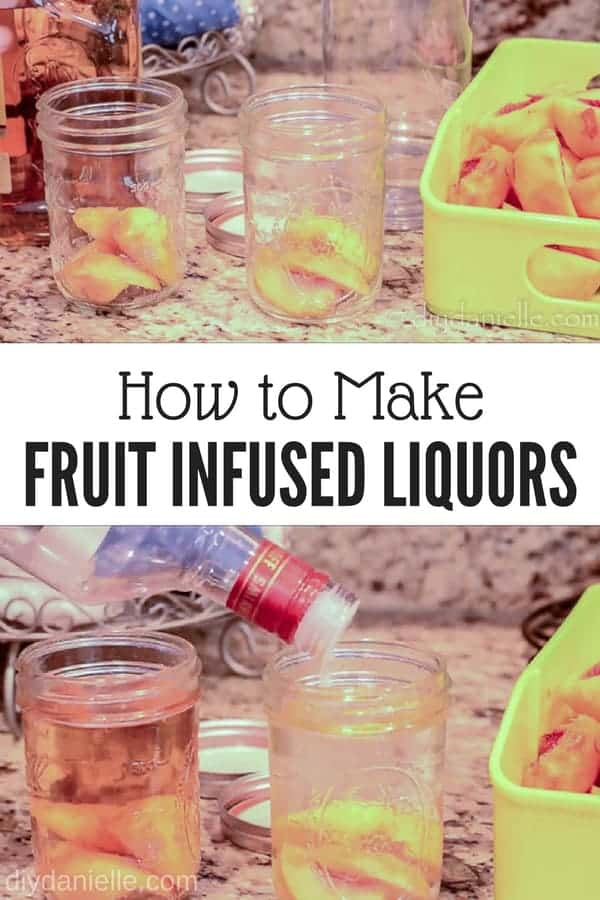 How to make fruit flavored liquors for easy gifts.