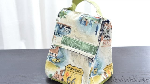 lunch bag sewing