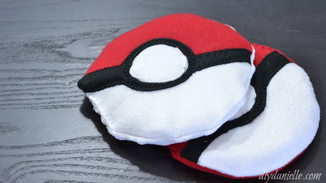 Pokeball Shaped Boo Boo Bags