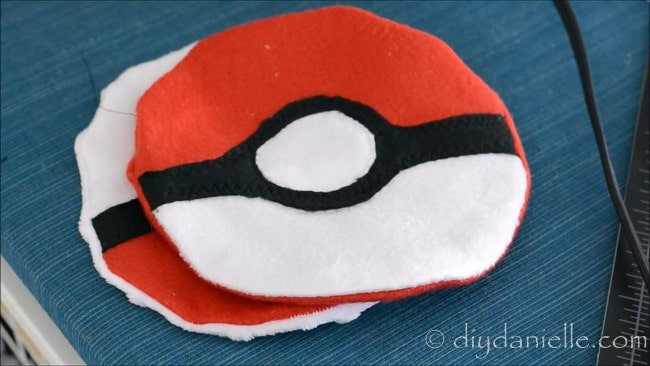 Pokemon ice pack before rice is added.