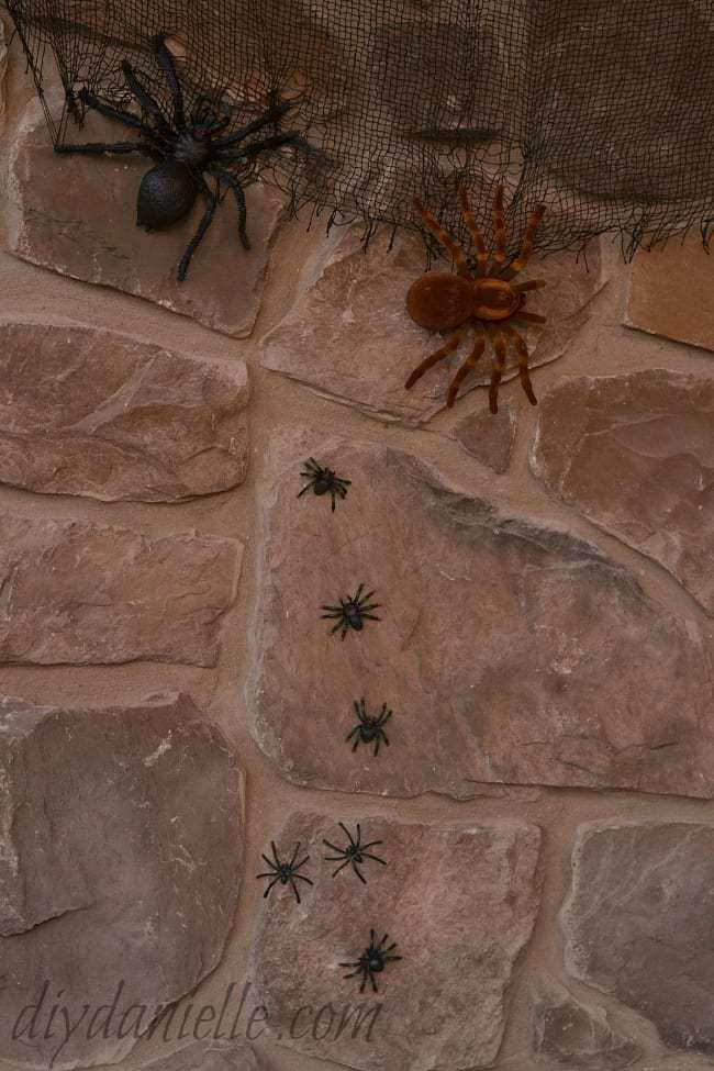 DIY Harry Potter themed Halloween Porch