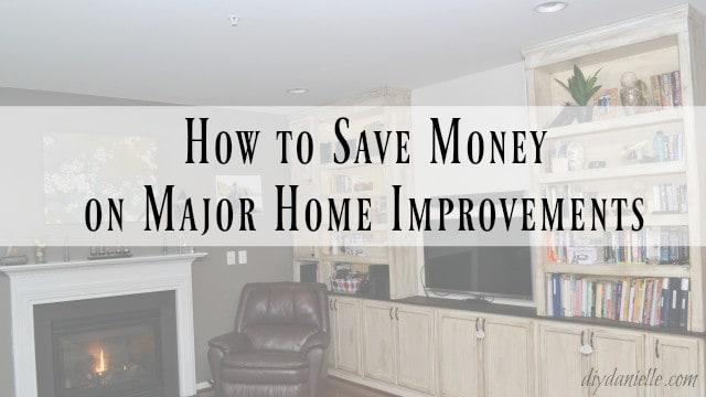 save money home renovation