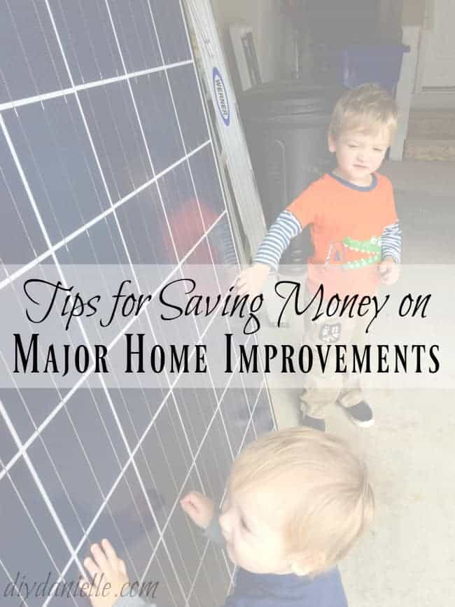 7 Simple Tips for Saving Money on Major Home Improvements