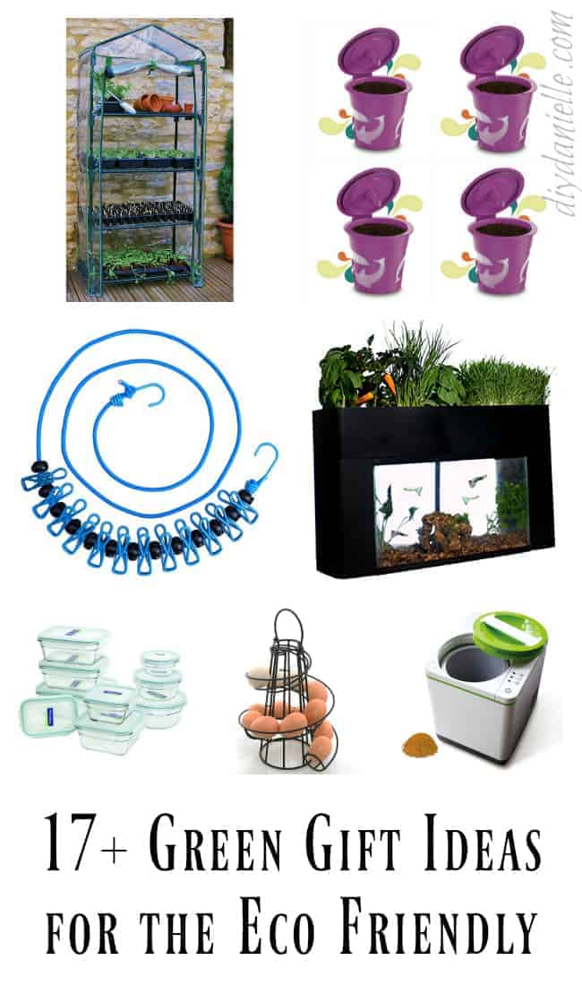 green eco friendly gifts