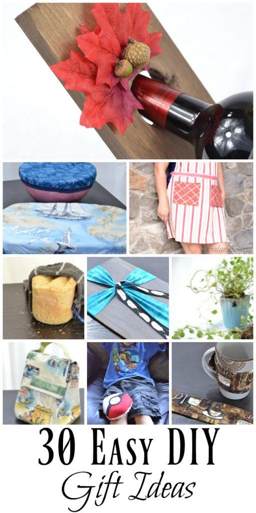 30 Easy DIY Gift Ideas