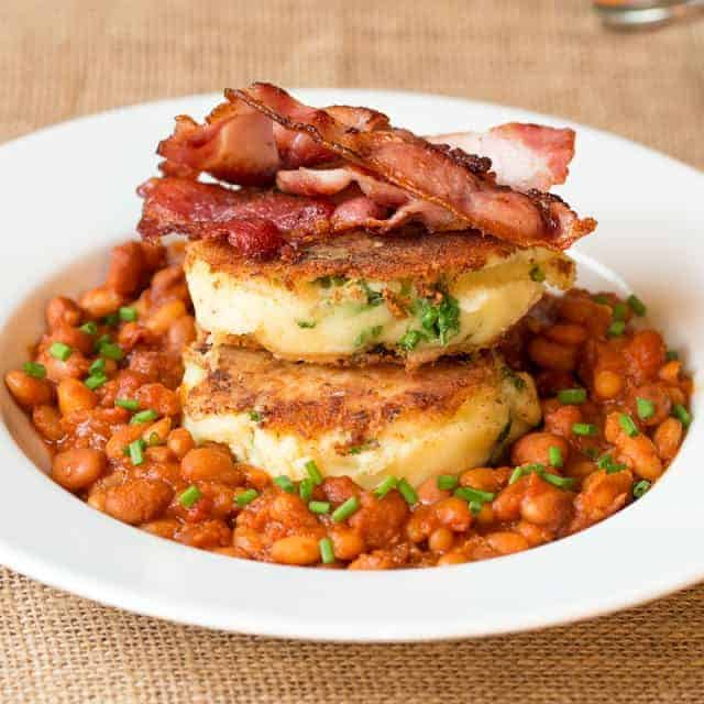 Smokey Beans Bubble and Squeak