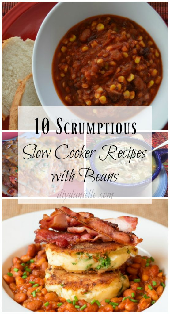 10 Scrumptious Slow Cooker Recipes with Beans